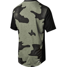 Fox Indicator Mash Camo Short Sleeve Jersey Men black